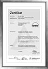 Zertifikat SCC-2011