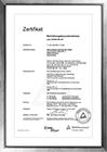 Zertifikat DVGW GW 301