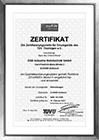 Zertifikat (PED) 2014/68/EU Modul H