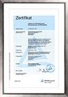 Zertifikat Übertragung Werkstoffkennzeichnung